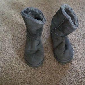 UGG Australia Classic Short II Gray Women's boot